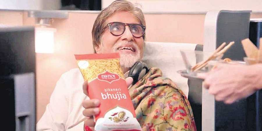 The one campaign that stood out these past few days was an Amitabh Bachchan-starrer shot aboard a flight.