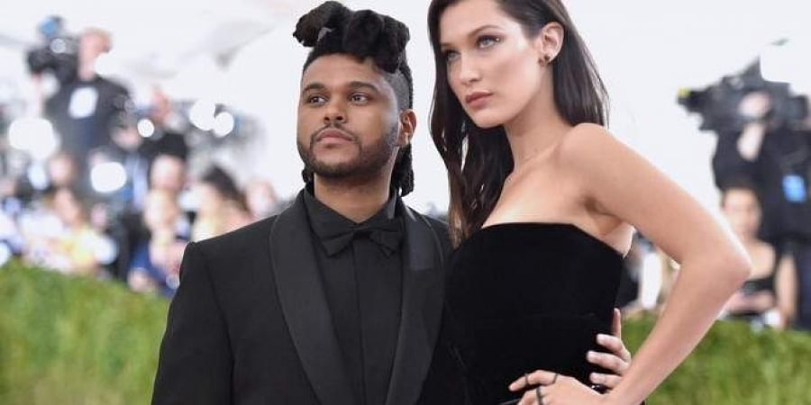 Supermodel Bella Hadid and singer The Weeknd. (Photo | File, AFP)