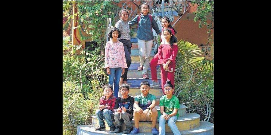 Winners of the Scholastic India Awards 2019 at Zorba, The Buddha in New Delhi.