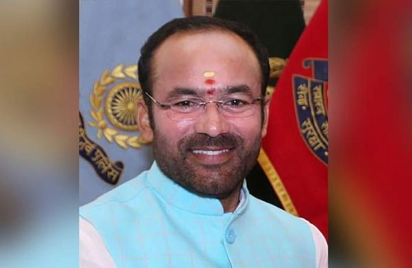Members of United-Federation of Resident Welfare Associations meet Minister of State for Home Affairs Kishan Reddy for MMTS Phase II