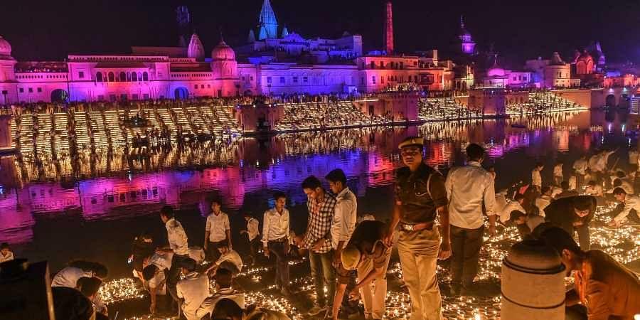 Ayodhya, Ayodhya festival of lights