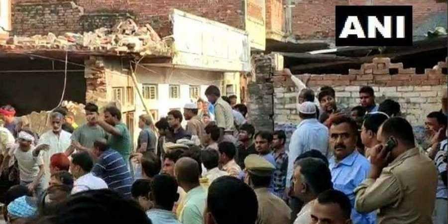 11 killed in gas cylinder explosion in Uttar Pradesh's Mau district