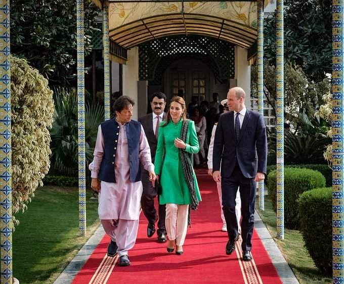 Kate Middleton-Prince William-Pakistan Trip-Imran Khan-Princess Diana-Photos