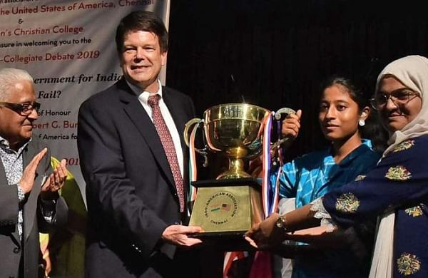 Chennai women's college wins Elihu Yale inter-collegiate debate
