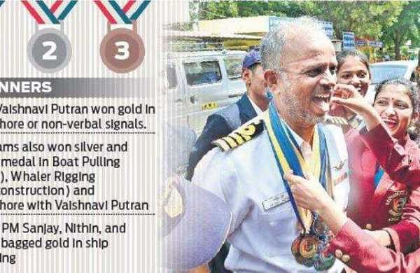 Top NCC cadets aspire to sail as Navy officers