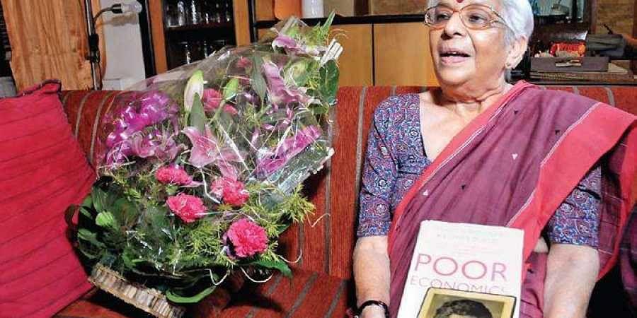 Abhijit Banerjee's mother