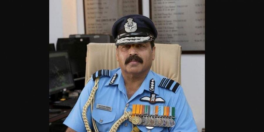 Air Marshal Rakesh Kumar Singh Bhadauria (Photo | Twitter)