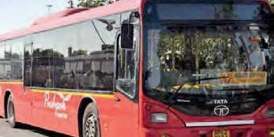 Pushpak bus