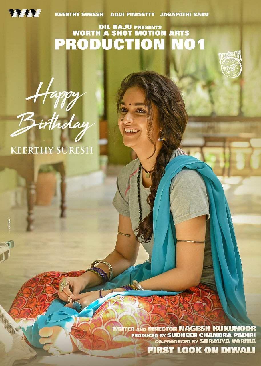 Keerthy Suresh birthday-upcoming films-photos and stills