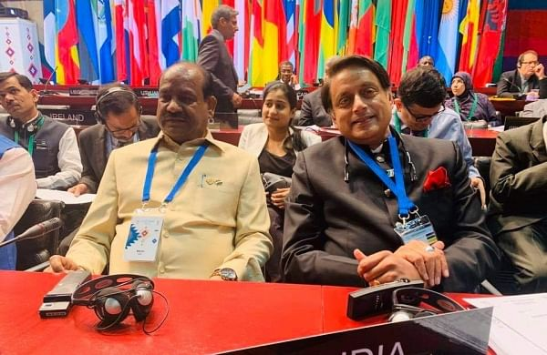 Article 370 abrogation India- internal matter': Shashi Tharoor slams Pakistan at IPU