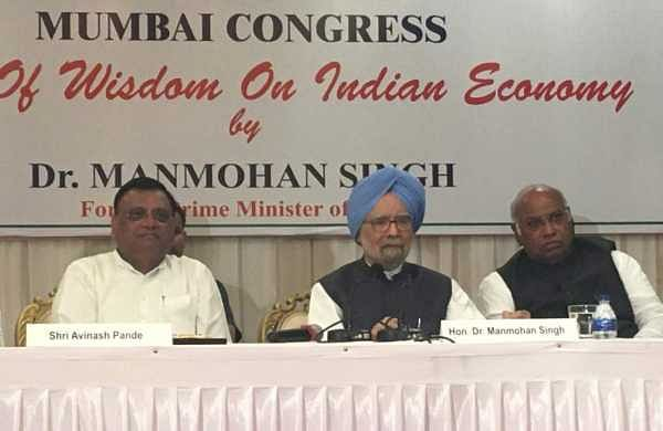 Slowdown, government apathy affecting economy: Manmohan Singh