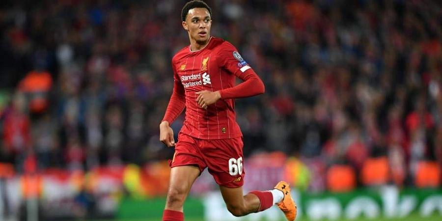 Liverpool's English defender Trent Alexander-Arnold. (Photo | AFP)