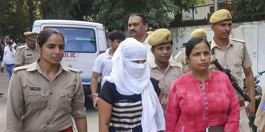 The woman law student who accused BJP leader Chinmayanand of sexual misconduct and harassment.   (File   PTI)