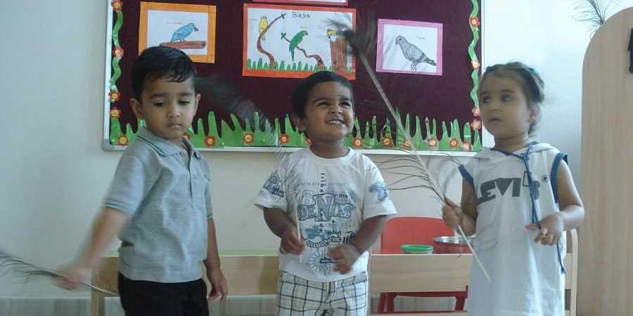 pre-school students nursey children