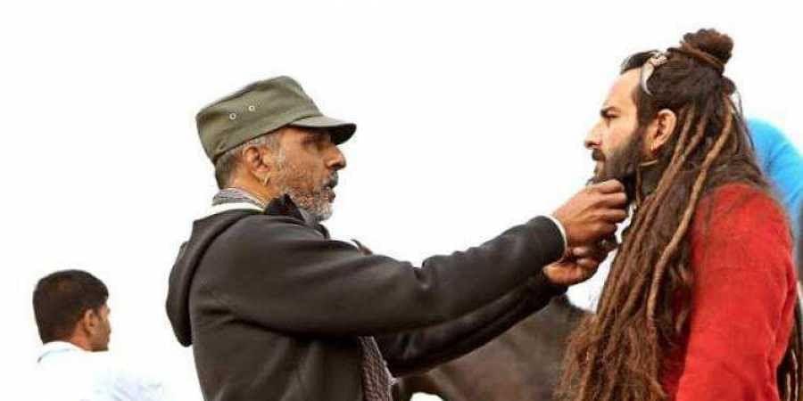 'Lal Kaptaan' director Navdeep Singh with actor Saif Ali Khan.
