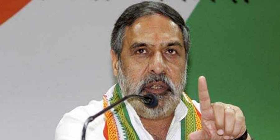 Congress senior spokesperson Anand Sharma
