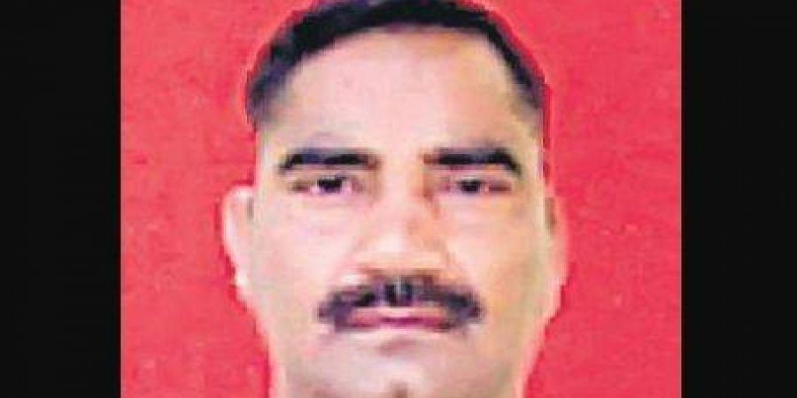 HC Vijay Bhan Singh who died of bullet injuries.