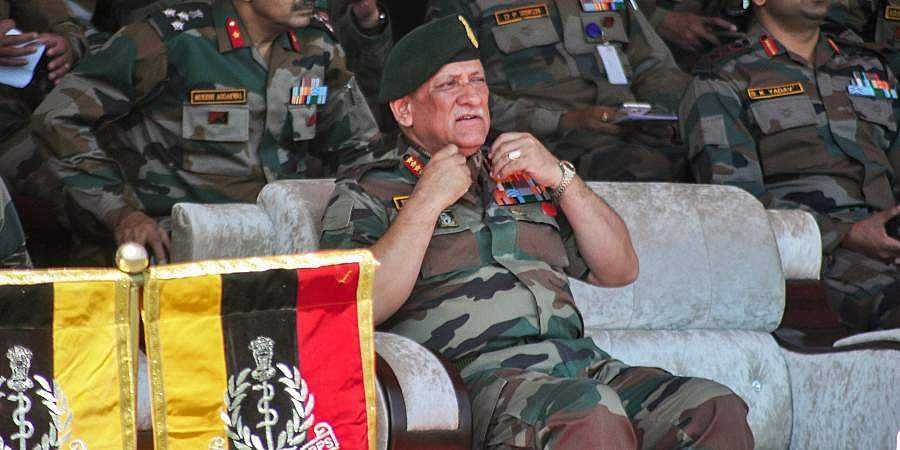 We will continue to partner with friends to confront any emerging threats: Army chief Bipin Rawat