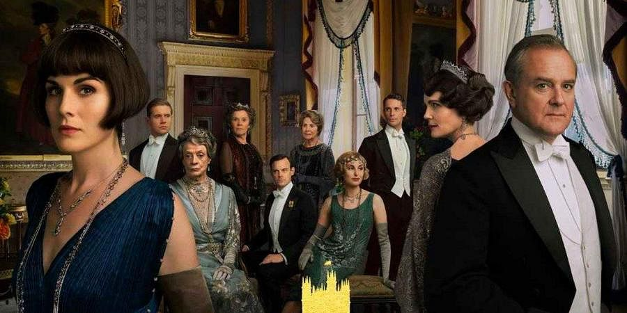 The poster of 'Downtown Abbey'.