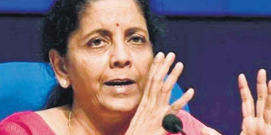 Nirmala Sitharaman, Union Finance Minister.