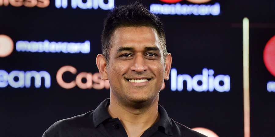 Indian cricketer Mahendra Singh Dhoni during the launch of 'Team Cashless India' a nationwide initiative to accelerate and adoption of digital payment in New Delhi. (Photo | PTI)