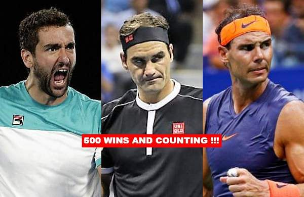 During the ongoing VTB Kremlin Cup, Marin Cilic registered his 500th tour-level win when he defeatedIvo Karlovic in the first round. Here is a look at the 10 active tennis stars who have clinched more than 500 wins at the ATPtour-level. As of 17 October 2019.