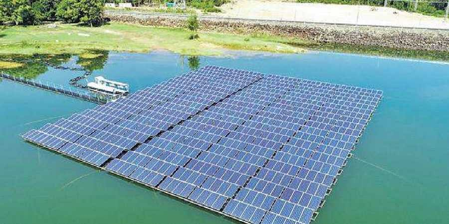 government plans to set up a 1,000MW floating solar power park in Khandwa district.