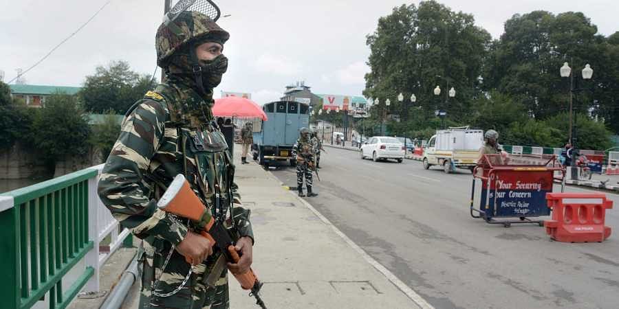 Centre starts pulling out troops from Jammu and Kashmir...