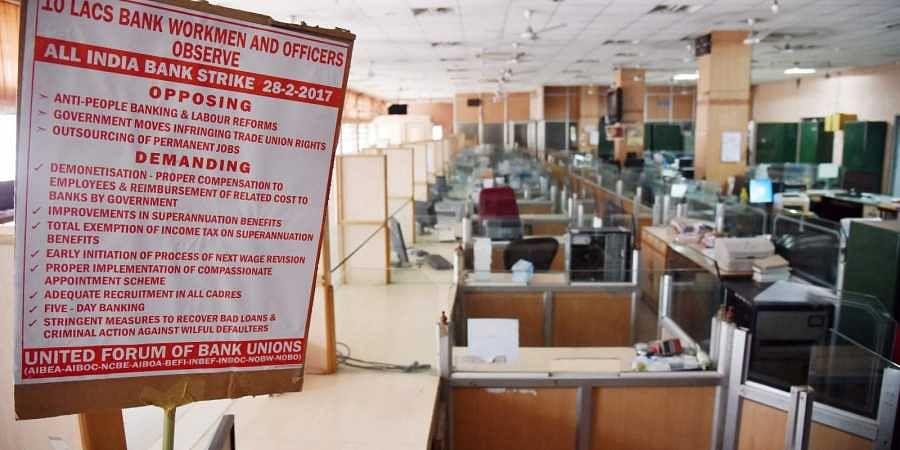 bank strike, Hyderabad