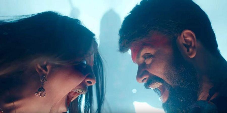 Avika Gor and Ashwin Babu in 'Raju Garu Gadhi 3'.