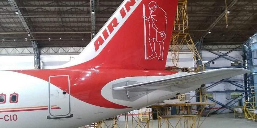 Air India pays tribute to Bapu on 150th birth anniversary.