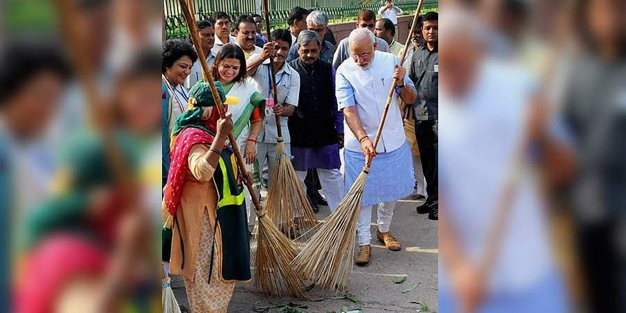 Swacch Bharat Abhiyaan (File Photo | PTI)
