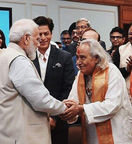 PM Narendra Modi shared pictures with the fraternity, saying the 'interaction with leading film personalities and cultural icons was fruitful.