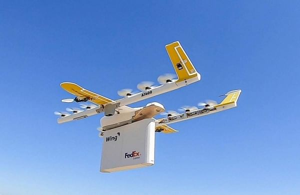Google completes first drone delivery in US