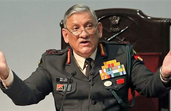 Four terror camps hit in PoK, three destroyed: Army Chief General Bipin Rawat