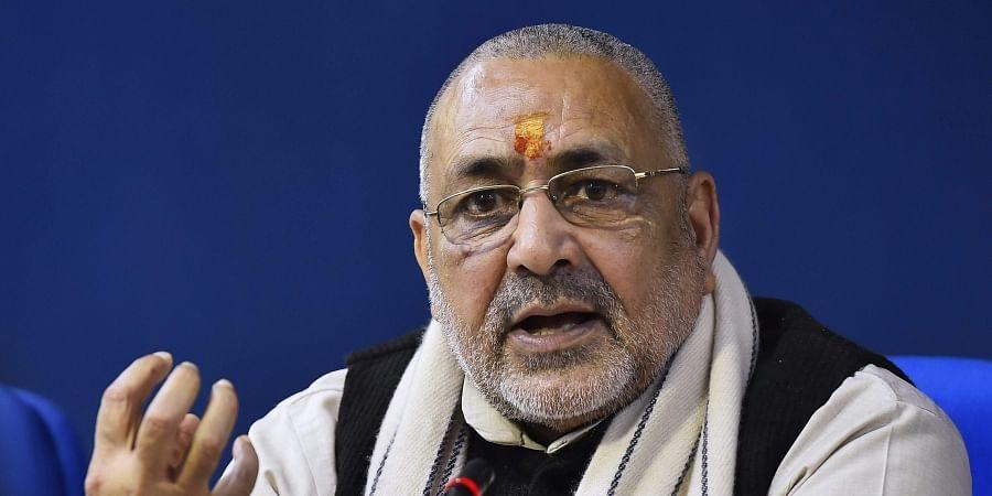 After Amit Shah's snub, Giriraj Singh hopes better seat-sharing deal for BJP in Bihar