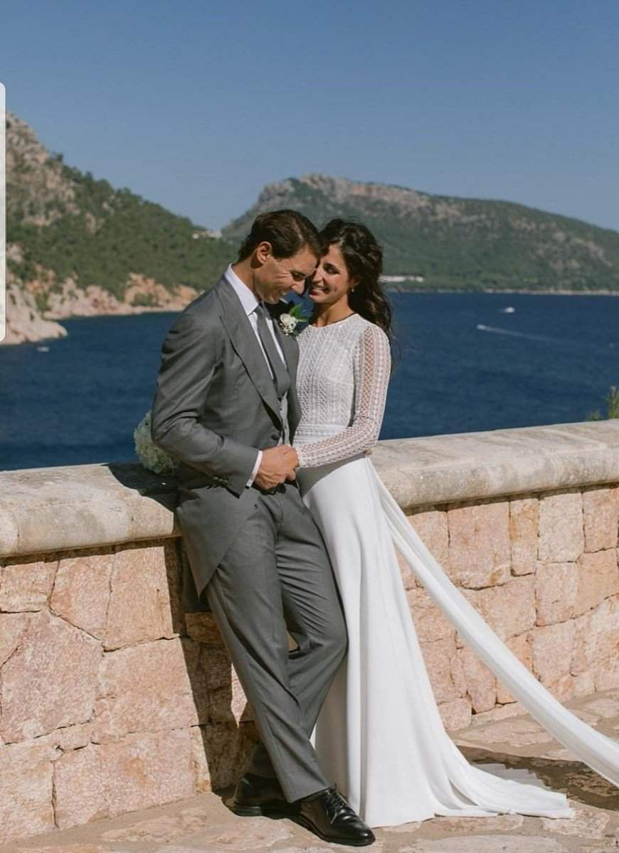 Rafael Nadal, 33, met his wife through his younger sister Maribel, a childhood friend of Perello.