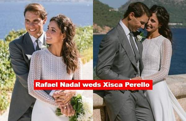 Rafael Nadal Ties The Knot With Girlfriend Xisca Perello At A Spanish Fortress The New Indian Express
