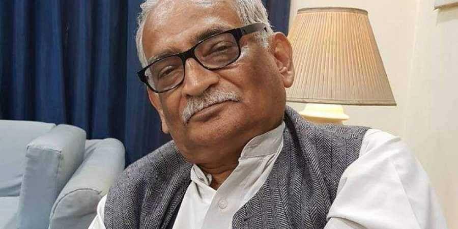 Senior advocate Rajeev Dhavan