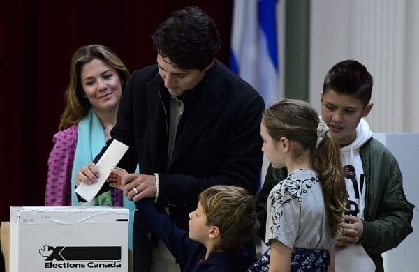 Justin Trudeau's Liberals to form minority government: Canadian TV projections