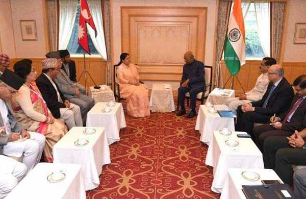 President Ram Nath Kovind meets Nepal counterpart in Japan; discusses bilateral issues