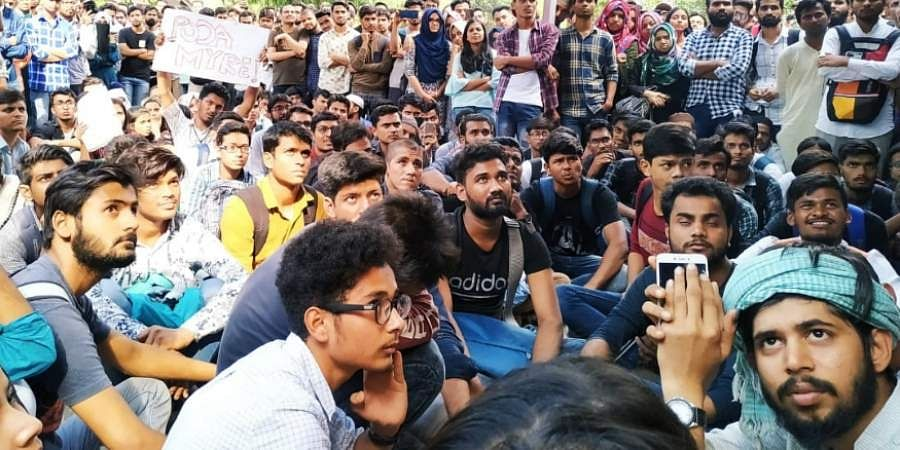 Jamia Millia Islamia University students
