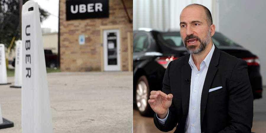 Uber CEODara Khosrowshahi