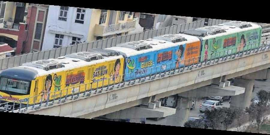 The services on the 11.6 km long corridor will continue as per the normal time table.