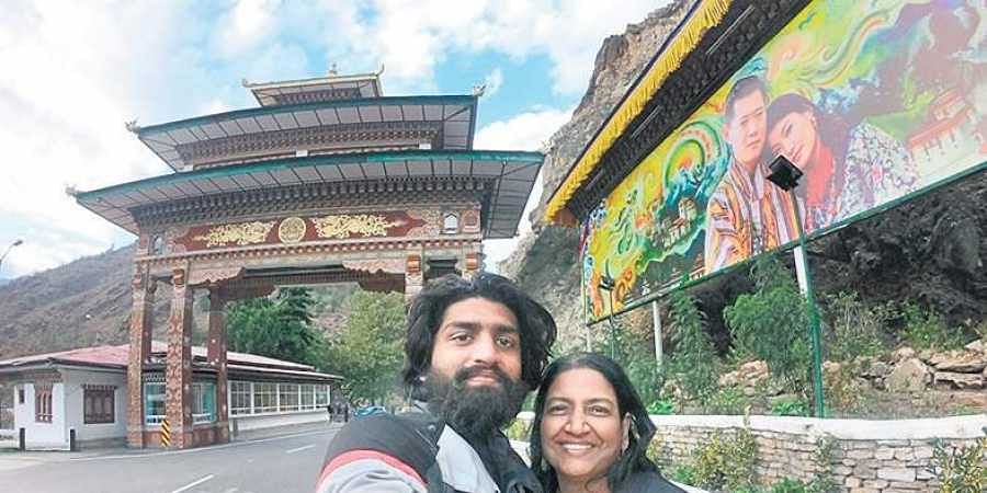 Travel goals: 49-year-old Kerala woman discovers India on son's motorbike