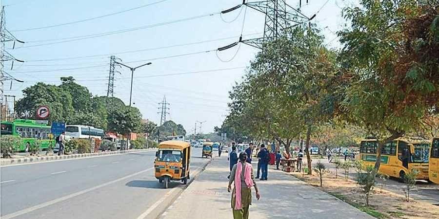 Dwarka traffic