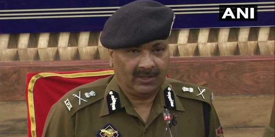 Jammu and Kashmir DGP Dilbag Singh