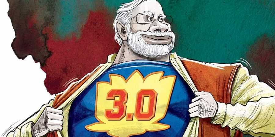 Record drum roll in states signals Modi 3.0
