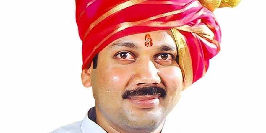 BJP leader Udyanraje Bhonsle defected from NCP last month