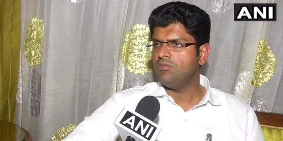 Jannayak Janata Party chief Dushyant Chautala